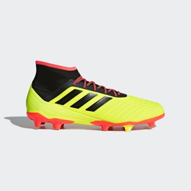 6103762aa adidas Predator 18.2 FG Firm Ground Football Boots Mens Soccer Shoes ...
