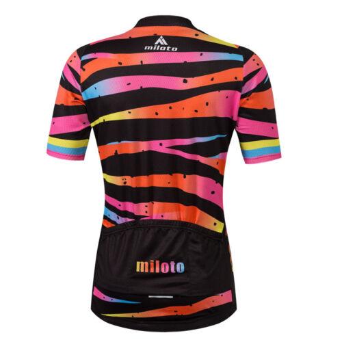 Shorts Kit Bib Colour Zebra Female Bike Clothes Set Ladies Cycling Jersey and