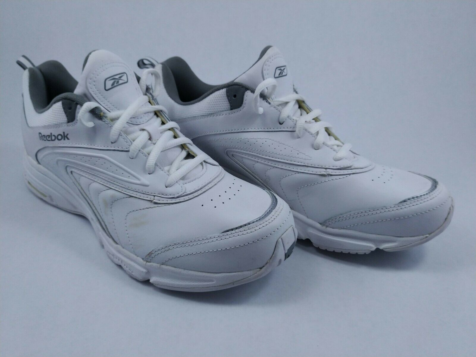 Vintage Reebok Walkway DMX Foam White Mens shoes US 11M Sneakers