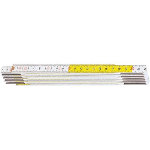 Hultafors ++NEU+++ Gliedermassstab Buche 2m gelb-weiss