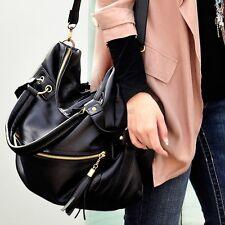 New Korean Women's Leisure Tassel Shoulder Bag Large Capacity CYBD01