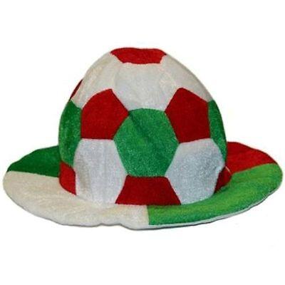Cappello Pallone Forza Italia Calcio Tricolore Mondiali Europei Tifo Tifoso Profitto Piccolo