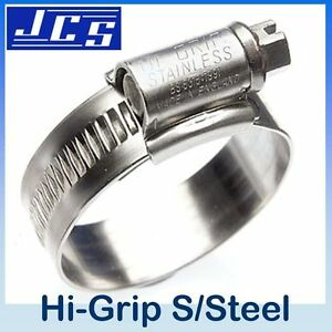 Stainless Steel pressure 2x Performance Mini Fuel Line Hose Clamps Clips