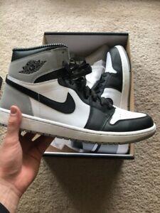 Jordan Retro Wolf Air Barons Og 104 Black 13 White About Grey Details Nike Size High 555088 1 PkXiuOZT