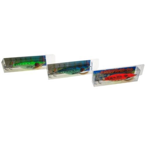 10 Pcs Squid Jig Ultra Bait Aurora Sinking 4 inch Squiding Jig Saltwater Lure