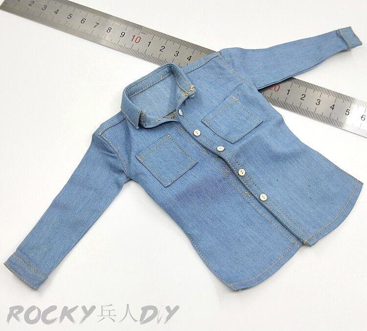 Shirt A for MCCToys Mr.Z MR.Z's Mini Closet 1 6 Scale Action Figure 12''