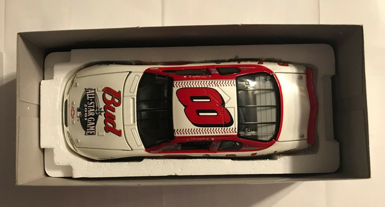 2001 acción Dale Earnhardt Jr. Budweiser escala 1 24TH - Juego de las estrellas