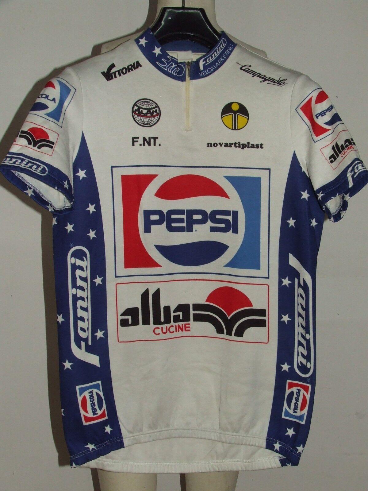 BIKE CYCLING JERSEY SHIRT MAILLOT CYCLISM TEAM PEPSI ALBA GIESSEGI size XXL