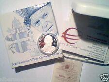 5 EURO argento Fs BE PP proof VATICANO 2011 Vatican Vatikan Giovanni Paolo II