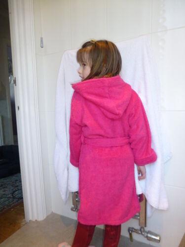 Blu Royal età 2-12 Childrens Abiti con cappuccio personalizzato con un nome