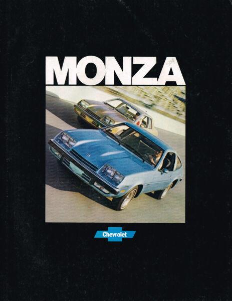 1977 Chevrolet Monza Brochure/catalogo: Spyder, 2+2, Hatchback, Towne Coupe ,'77 Gamma Completa Di Articoli