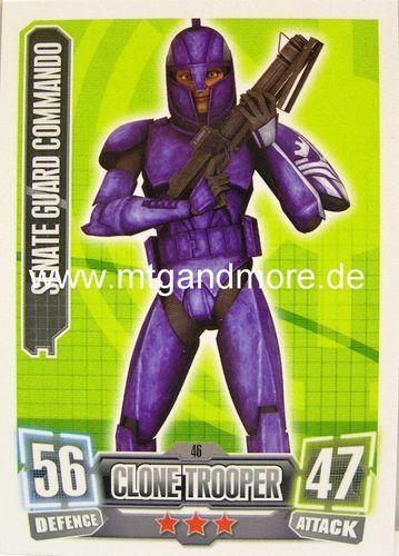 Senate Guard commando #046 Force Attax série 2
