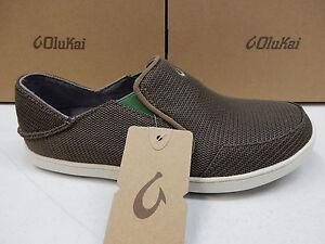5 Mens Size 10 Lime Peel Mustang Olukai Nohea Mesh Shoes Bdxw170qz