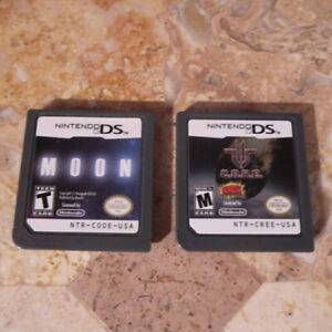 Nintendo-DS-3DS-LOT-MOON-CORE-USA-Authentic-FPS-Shooters-VERY-RARE-C-O-R-E