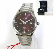 2021 Brand New Tudor Style 41mm Burgundy Dial 12700 Box Papers Full Stickers