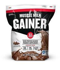 Muscle Milk Gainer Protein Powder Chocolate 32g Protein 10 Pound