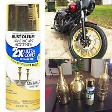 Spray Paint Rust-Oleum 327909 American Accents Ultra Cover 2x Metallic Gold
