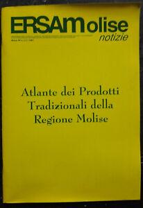 Libro - atlante dei prodotti tradizionali della regione molise