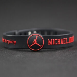Basketball-Star-Bracelet-adjustable-Sports-Silicone-Wristband-Michael-Jordan