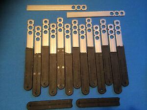 15 PK 200mm Stainless Steel Straight Movement Slip Ties + De-Bonding Sleeves