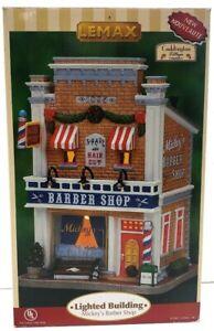 Lemax Caddington Village Mickey's Barber Shop With Box ...