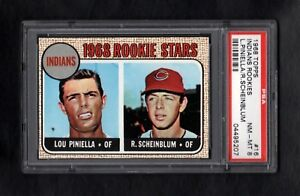 1968-TOPPS-16-INDIANS-ROOKIE-STARS-LOU-PINIELLA-RC-PSA-8-NM-MT-SHARP