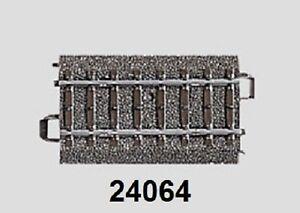 Maerklin-H0-24064-C-Gleis-gerade-64-3-mm-NEU