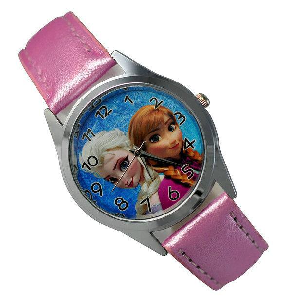 Disney Frozen Princess Wrist Quartz Fashion Child Girl Watch Xmas YBX02