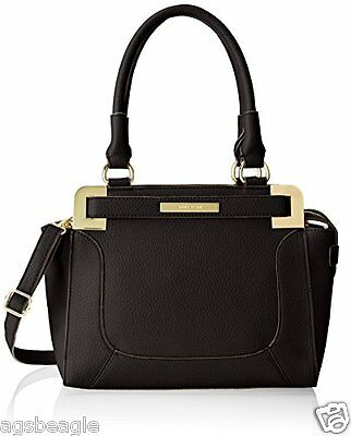 Anne Klein Trinity Medium Satchel Black by Agsbeagle #BagsFever