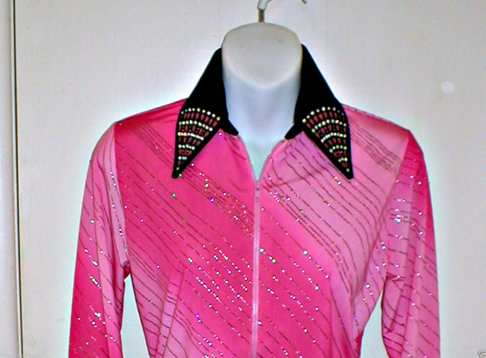Womens Pink Ombre Western Rail, Pleasure, Rodeo, Trail, Queen & Glamour Shirt