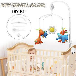 4Pcs-Baby-Kids-Mobile-Crib-Bed-Bell-Toy-Holder-Arm-Bracket-Wind-up-Music-Box
