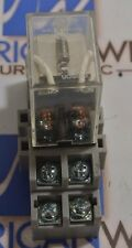 Omron LY2 Relay with base socket - USED - LOT OF 4