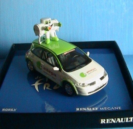 RENAULT MEGANE II 2 COUPE TOUR DE FRANCE 2003 ANTARGAZ NOREV 1 43