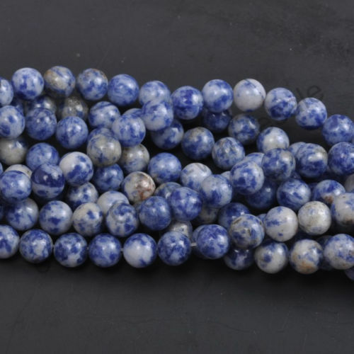 Lots Natural Gemstone Round Spacer Loose Beads Multi Color 4mm 6mm 8mm 10mm 12mm