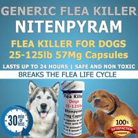 100ct. 25-125lb 57mg generic Flea Killer Nitenpyram