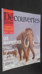 Revista Semanal Dibujada Descubrimientos Junior N º 5 Gallimard Buen Estado