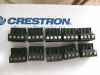 Crestron 4-pin 5mm Terminal Blocks Connectors Amx Connectors Plugs Lot Of 10