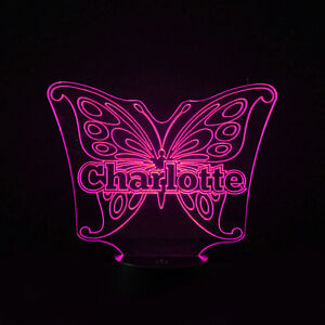 Led Case Bag Gift Bag Gift Bag Butterfly Illuminated Colour Chaning