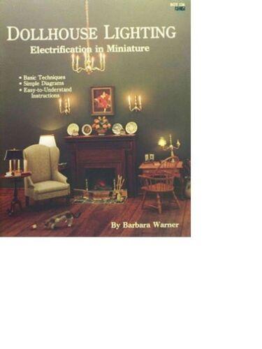 Item #BOY134 Book Dollhouse Lighting Electrification In Miniatures