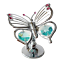 Crystocraft-Butterfly-Ornament-Crystal-Ornament-Swarovski-Elements-Gift-Box thumbnail 7