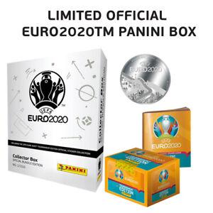 Panini Collector Box silber - Special Bundle Edition UEFA EURO 2020™