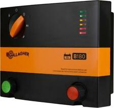 New Gallagher B180 Battery Powered Electric Fence Charger Energizer Fencer 1.8J
