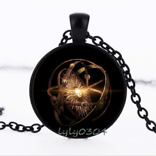 Wholesale dome Black Glass Cabochon Necklace Pendant Game of Thrones photo