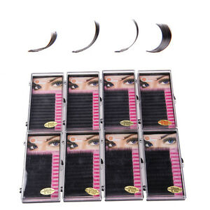 All Size JBCD Curl Individual Silk Mink Volume Lashes Eyelash Extensions Blink