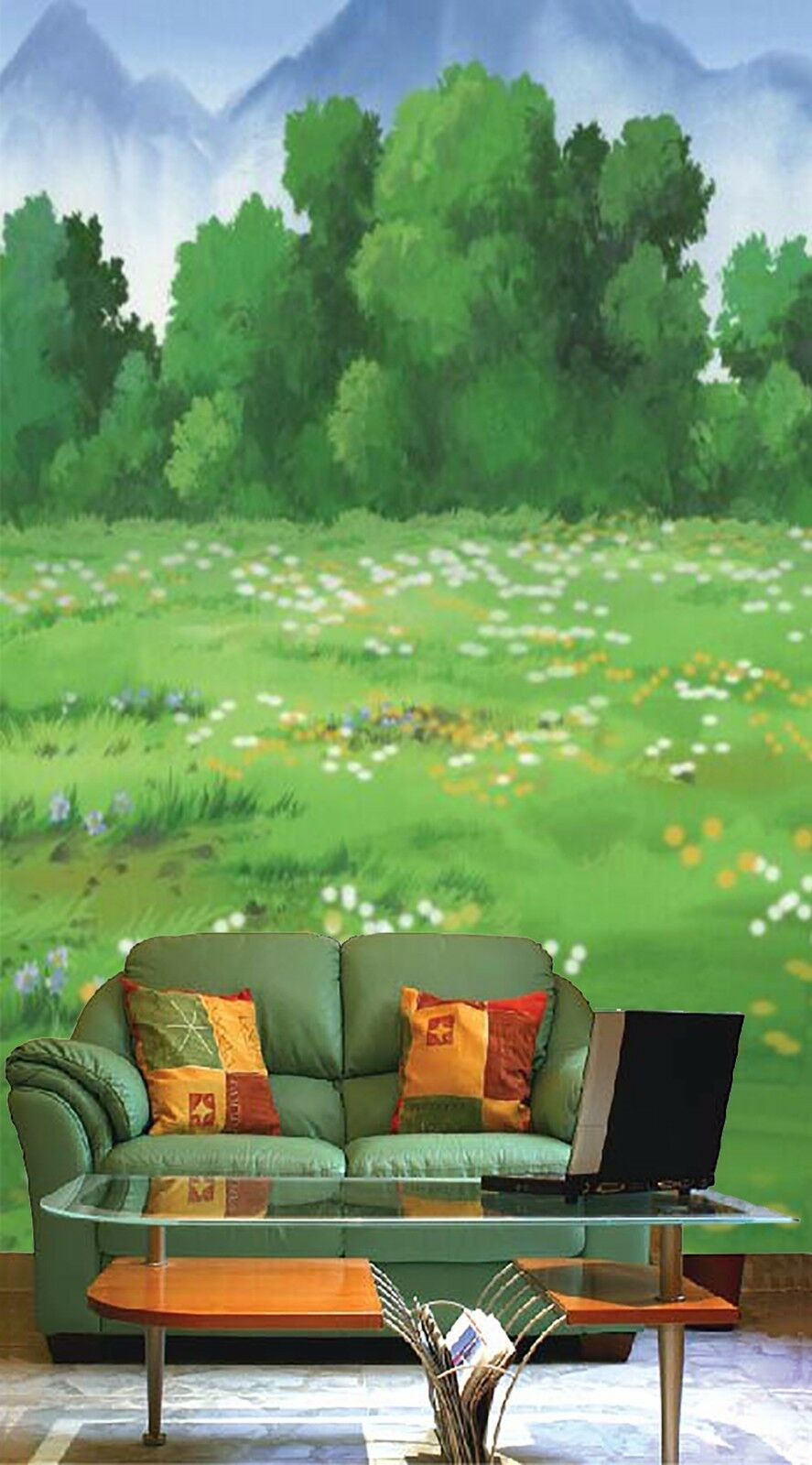 3D Lawn green grass 354 Wall Paper Wall Print Decal Wall Indoor Murals Wall US