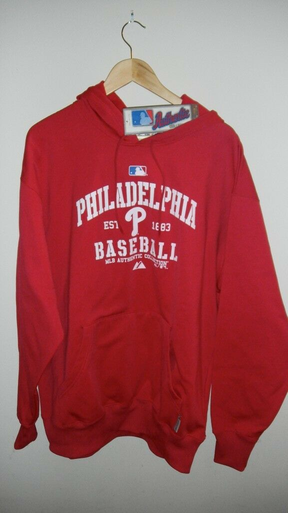 Philadelphia Phillies  Classic  Hooded Fleece, Large