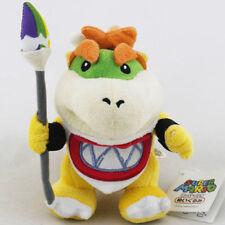 "New 7"" Baby Bowser Jr Koopa Plush Toy Super Mario Brother Figure Stuffed Animal"