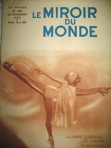 DANSE-CLASSIQUE-ET-L-039-AUTRE-T-S-F-GUERRE-DES-ONDES-LE-MIROIR-DU-MONDE-1933