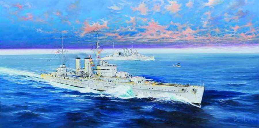 Trumpeter 1 350 HMS Exeter  New Release