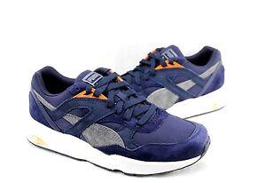 Puma-Men-039-s-Shoes-R698-Street-358016-02-Casual-Sneakers-Men-039-s-Sizes-7-5-10